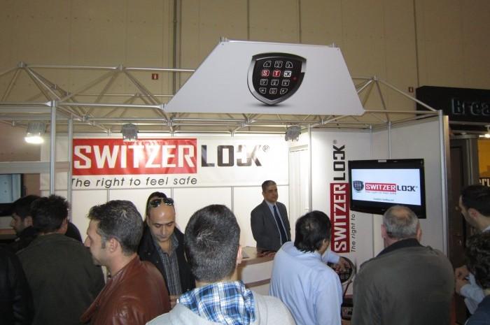 Μεγάλη επιτυχία για τα Switzerlock χρηματοκιβώτια στην έκθεση Safety Expo 2013 στην Aθήνα